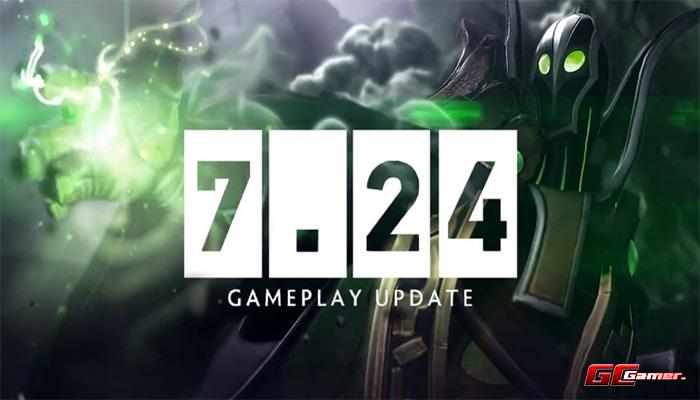 DOTA2 update 7.24