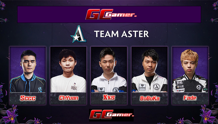 Team Aster ประกาศไลน์อัพลุย DPC 2019-2020