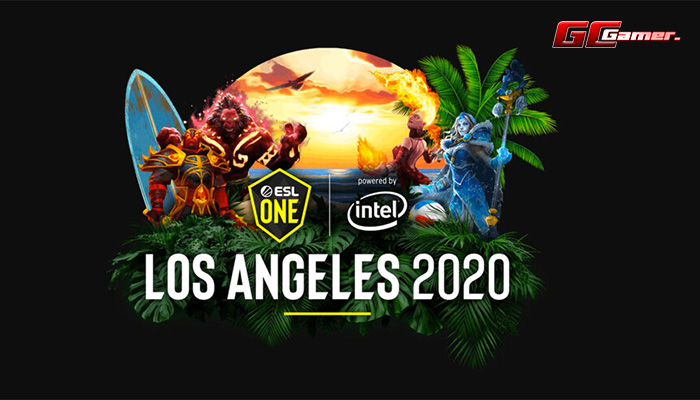 DOTA2 ESL One Los Angeles 2020