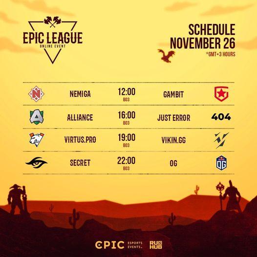 วันนี้ EPIC League Division 1
