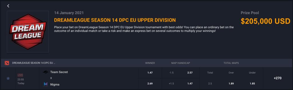 Dream League Season14 DPCEU Upper Division