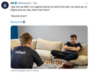 Igor น้องชาย พวกเราไม่สามารถเอาชนะ Secret ได้เลย